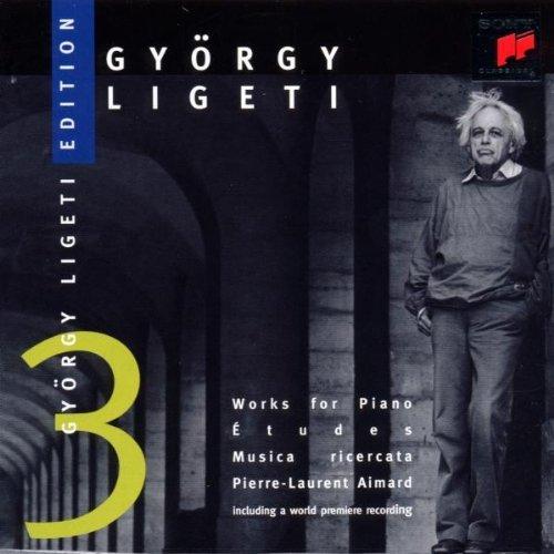 Ligeti: Works For Piano: Etudes, Musica Ricercata (Pierre-Laurent (2008-01-15)