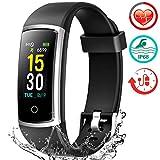 FITFORT Fitness Tracker HR Activity Tracker Watch - IP68 Water Resistant Smart Bracelet
