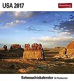 USA - Kalender 2017: Sehnsuchtskalender, 53 Postkarten -