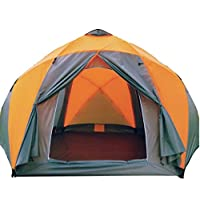 High-grade Pressure Plastic Multiplayer Tents, Two-tier Three Yurts 11