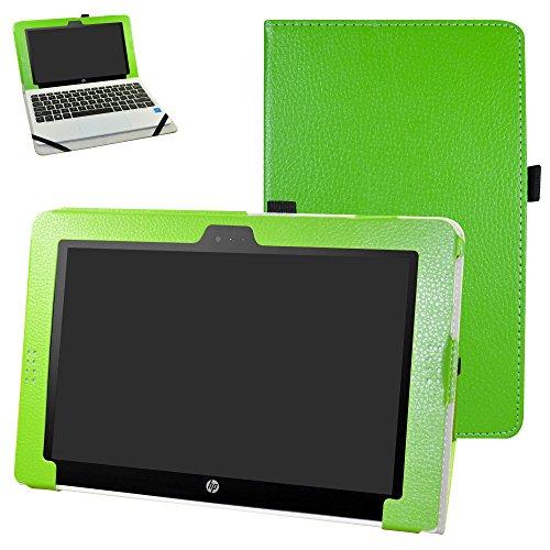 HP Pavilion x2 10 / HP x2 210 hülle,Mama Mouth Folding Ständer Hülle Case mit Standfunktion für 10.1