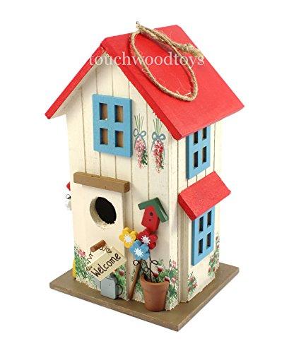 Charmante petite maison pour les oiseaux en bois - nid d'oiseau - Birdhouse