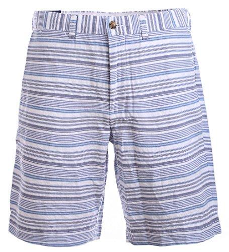 Ralph Lauren Polo Chino Short Classic Fit 9 inch Kurze Hose Bermuda Gestreift Größe 33
