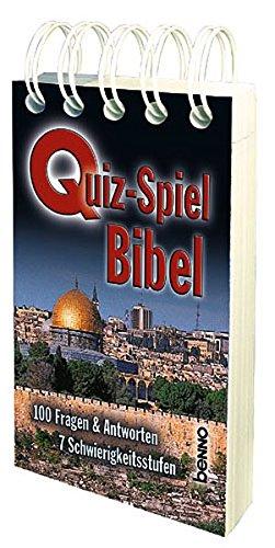 Quiz-Spiel Bibel: 100 Fragen & Antworten, 7 Schwierigkeitsstufen