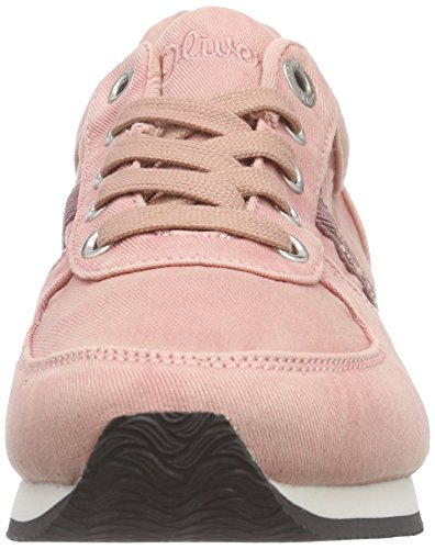 s.Oliver 23638, Baskets Basses femme Rose - Pink (OLD ROSE 512)