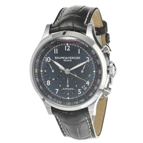 Baume&Mercier Reloj Analógico para Hombre de Automático con Correa en Cuero M0A10065
