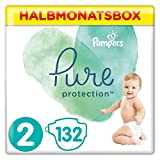 Pampers Pure Protection 132 Windeln Halbmonatsbox