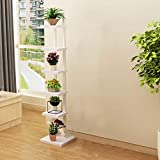 XiuHUa Stand de fleurs sur pied - Bac à légumes 6 couches créatif Stand de fleurs Présentoir Balcon Salon Jardin intérieur Support de plantes d'extérieur Support de fleurs vertes -6 couleur Jardinière