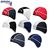Brisk cycling skull cap under helmet thermal tight fit warm...