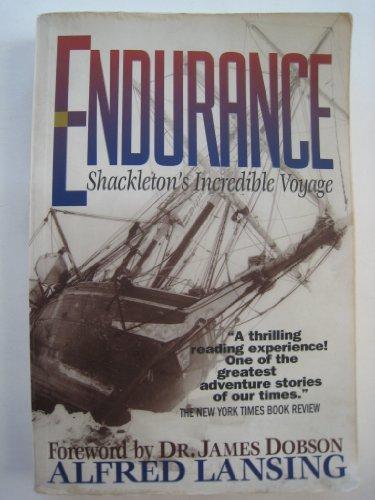 [Endurance: Shackleton's Incredible Voyage] [by: Alfred Lansing]