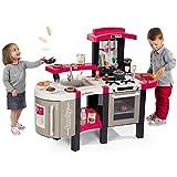 Unbekannt Tefal Kinderküche, Cuisine Super Chef Deluxe, reale Funktionen Sound • Kinder Küche Spielküche mit Küchen Zubehör Geräte