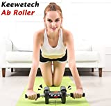 #8: Bliss Keewetech Professional Fitness Imported Ab Care Power Stretch Roller Fitness Slim Body Roller Double Wheel Abdominal Workout Trainer Total Body Fitness Workout