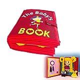Livre en tissu éducatif bébé livre non tissé livre souple livre photo maison puzzle manuel livre en trois dimensions pour le développement cognitif précoce enfants...