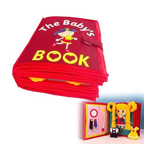 flyingx Kinderbuch Vliesbilderbuch Früherziehung Tuch Buch Vlies Bilderbuch Handbuch Puzzle Dreidimensionales Buch Handbuch Dreidimensionales Buch Für Die Frühe Kognitive Bildung -