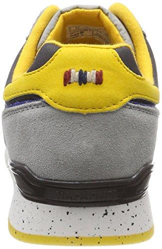 Napapijri Rabari, Baskets Homme Grau (Volcano Grey)