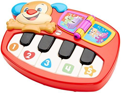 Fisher-Price Laugh and Learn Puppy's Piano, Multi-Colour