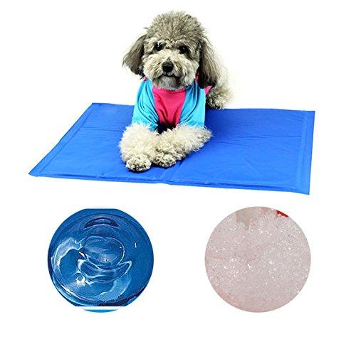 Finerolls Komfort Pet Chill Seat Pad selbst kühlend Bett die Gel-Pads Sommer Ice Cool Schlafplatz Matte für Hunde Katzen (Chill Pad)