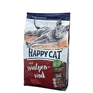 happy cat katzenfutter 70040 adult voralpen rind 10 kg haustier. Black Bedroom Furniture Sets. Home Design Ideas