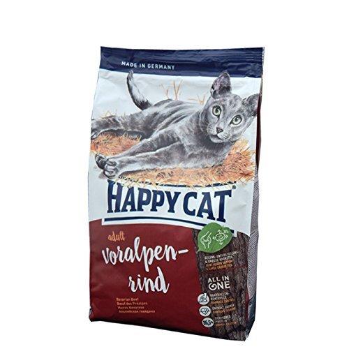 katzeninfo24.de Happy Cat Katzenfutter 70040 Adult Voralpen-Rind 10 kg