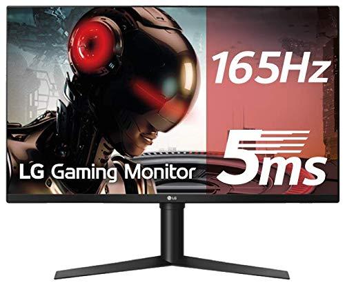 LG 32GK850G-B 80 cm (32 Zoll) WQHD IPS Gaming Monitor (165 Hz, G-Sync, DAS Mode), schwarz (Lg G 2 Abdeckungen)