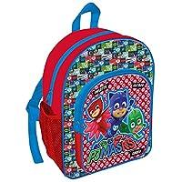 TDL Pj Masks Exclusive Design Backpack with Front Pocket & Bottle Holder Children