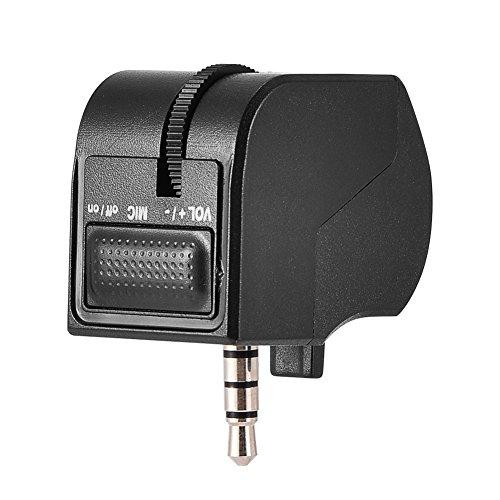 Headset-Splitter, Headset-Adapter Audio Lautstärkeregler für PS4 VR Grip Game Zubehör (Headset-splitter-adapter)