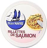 Petit Navire Rilllettes de saumon 125 g - Lot de 4