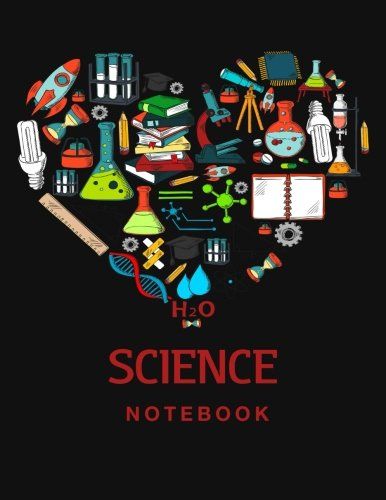 Science Notebook: 110 Blank and Lined pages por Science and Math Books