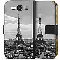 Samsung Galaxy S3 Neo Tasche Leder Flip Case Hülle Paris Frankreich France