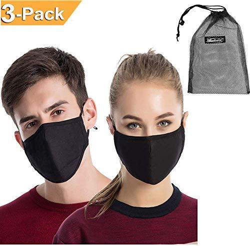 Set Staub Masken Unisex Pollen-allergene Grippe Bazillen Chirurgenstahl-muffle wiederverwendbar Baumwolle Gaze Maske PM2,5-aktiviert Fliter Respirator Reisen Outdoor Fahrrad Gesichtsmaske