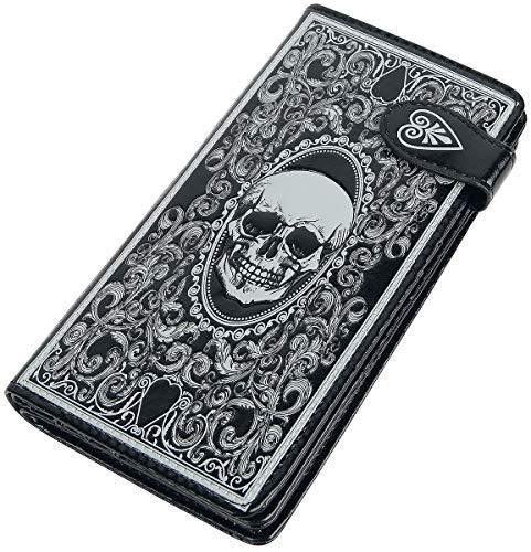 Nemesis Now Skull Tarot Geldbörse Standard (Horror-geldbörse)