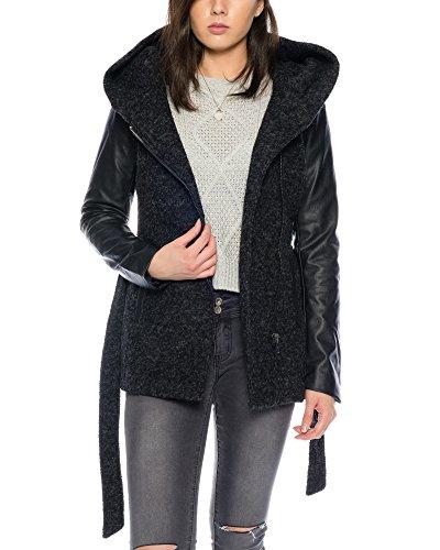 Only Damen Jacken / Winterjacke onlNew Lisford Wool schwarz L