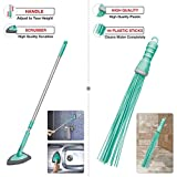 Spotzero by Milton Bathroom Floor Cleaning Kharata Plastic Broom with Floor and Wall