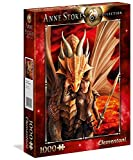 Clementoni – Anne Stokes Puzzle Inner Strenght, 1000, 39464