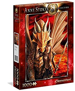 Clementoni - Anne Stokes Puzzle Inner Strenght, 1000, 39464