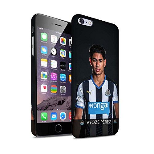 Offiziell Newcastle United FC Hülle / Matte Snap-On Case für Apple iPhone 6S+/Plus / Janmaat Muster / NUFC Fussballspieler 15/16 Kollektion Ayoze