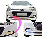 #5: Auto Pearl - Premium Quality Car Fog Lamp LED Reflector Day time Running Light For - Hyundai I20 Elite
