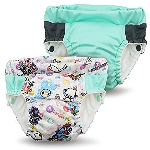 Kanga Care Sac imperméable Lil learnerz Formation pantalons (XS, tokibambino et sweet)