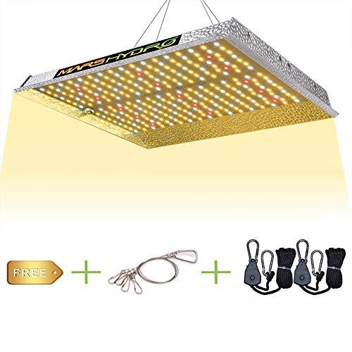 MARS HYDRO LED Grow Lampe TS 1000 Vollspektrum Pflanzenlampen LED wachsen Licht Wachstumslampe für Zimmerpflanzen, Gemüse, Blume(TS 1000 LED Grow Lampe)
