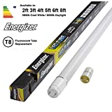 ENERGIZER HighTech T8 Led Tube - Retrofit Fluorescent Tube Replacement - Includes Starter (2ft - 600mm 9w (18w Replacement), 6000k - Daylight)