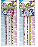 PMS 3ASTD Einhorn PRTD Bleistift w/geformte Einhorn Radiergummi Att
