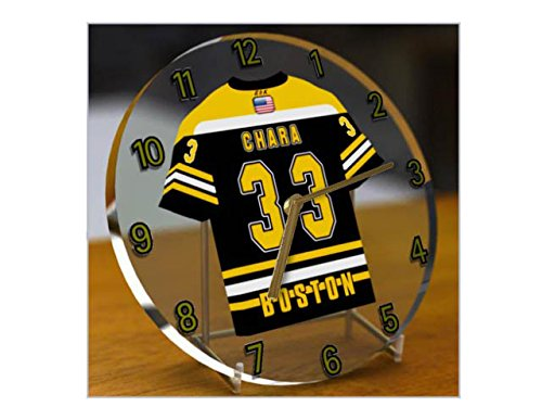 NHL National Hockey League – Eastern Conference – Atlantic Division Trikot-Uhren – Jeder Name, beliebige, jedes Team, kostenlose Personalisierung. Boston Bruins