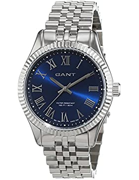 Gant Damen-Armbanduhr BELLPORT Analog Quarz Edelstahl W70702