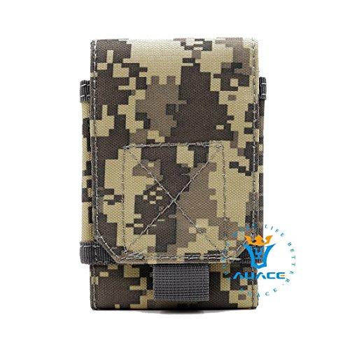 Multifunktions Survival Gear Tactical Beutel MOLLE Beutel Handytasche, Outdoor Camping Tragbare Tasche Handtaschen Taille Tasche Werkzeugtasche Travel Handytasche ACU