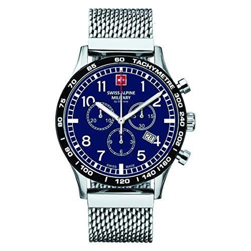 Swiss Alpine Military Herren Uhr Chrono 1746.9135SAM Edelstahl