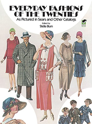 the Twenties: As Pictured in Sears and Other Catalogs (Dover Fashion and Costumes) (Kostüm 20th Century)