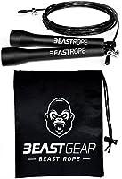 Springseil von Beast Gear – Speed Rope Für Fitness, Ausdauer & Abnehmen. Ideal für Boxen, MMA, Crossfit, HIIT,...