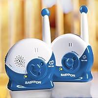 Vivanco Babyfon, 40MHz, Eco, 2compartimento S de Electrosmog Reduce, carga