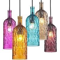 Bbslt Einfach Und Glas Modern Buntglas , Kreative, Dekoration Kronleuchter  Für Wohnzimmer Bar Einzige