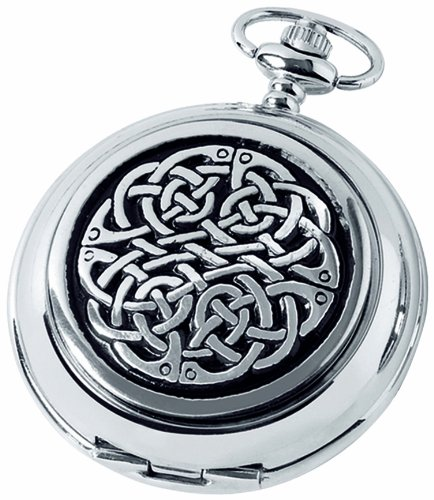 woodford-skeleton-pocket-watch-1873-sk-mens-chrome-finished-never-ending-knot-pattern-with-chain-sui
